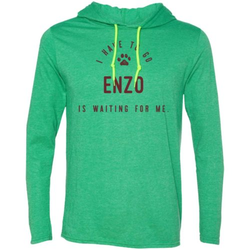 I Have To Go Personalized Lightweight T-Shirt Hoodie