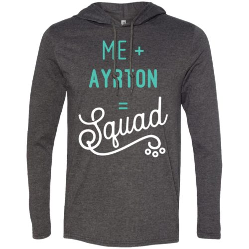 Squad Personalized Lightweight T-Shirt Hoodie