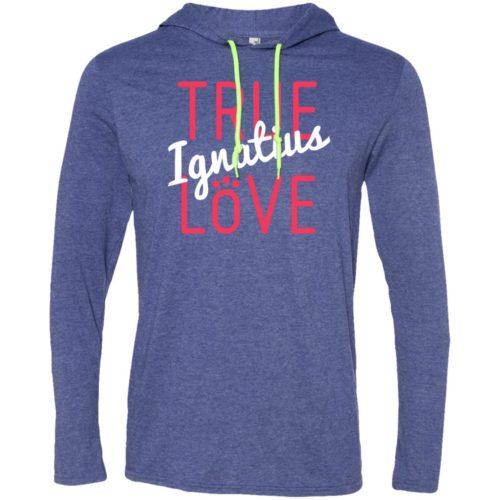True Love Personalized Lightweight T-Shirt Hoodie