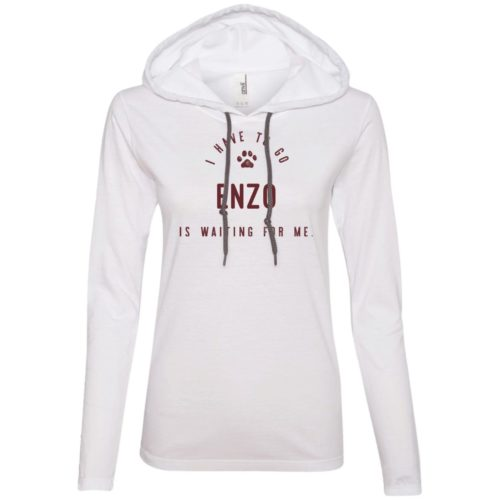 I Have To Go Personalized Ladies' Lightweight T-Shirt Hoodie