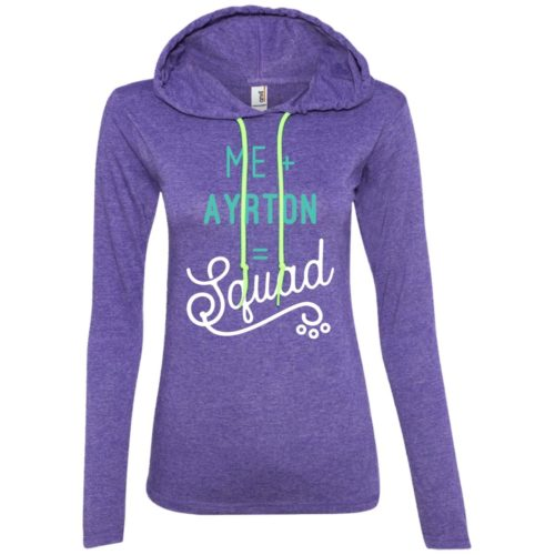 Squad Personalized Ladies' Lightweight T-Shirt Hoodie