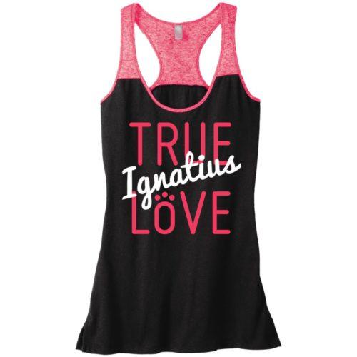 True Love Personalized Varsity Tank