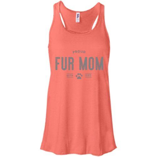 Proud Fur Mom Personalized Bella Fashion Tank