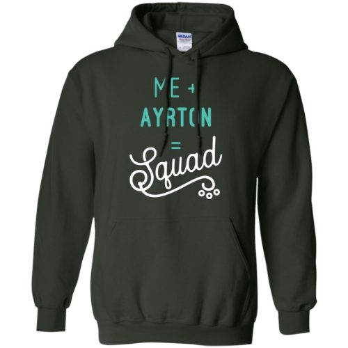 Squad Personalized Pullover Hoodie