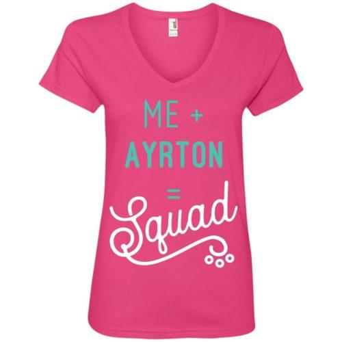 Squad Personalized Ladies' Premium V-Neck