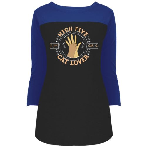 High Five Colorblock 3/4 Sleeve