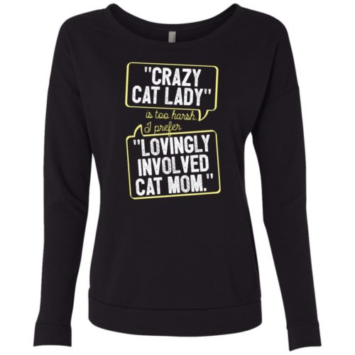 Lovingly Involved Scoop Neck Sweatshirt