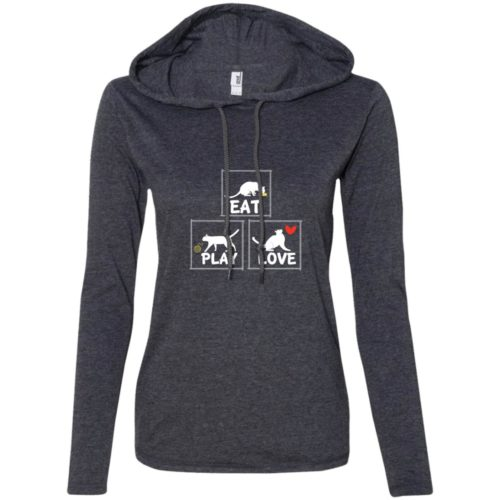 Eat Play Love Fitted T-Shirt Hoodie