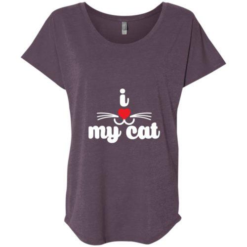 I Heart My Cat Slouchy Tee