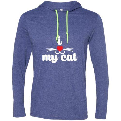 I Heart My Cat T-Shirt Hoodie