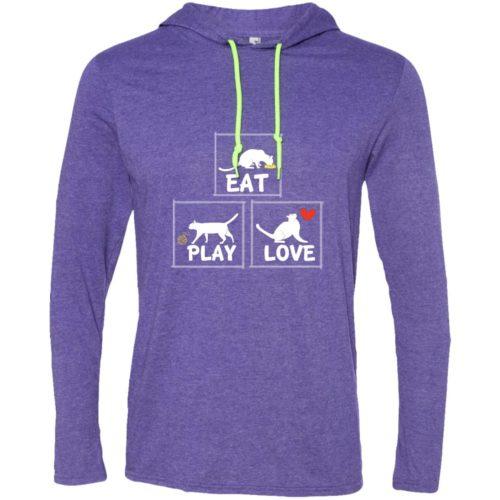 Eat Play Love T-Shirt Hoodie
