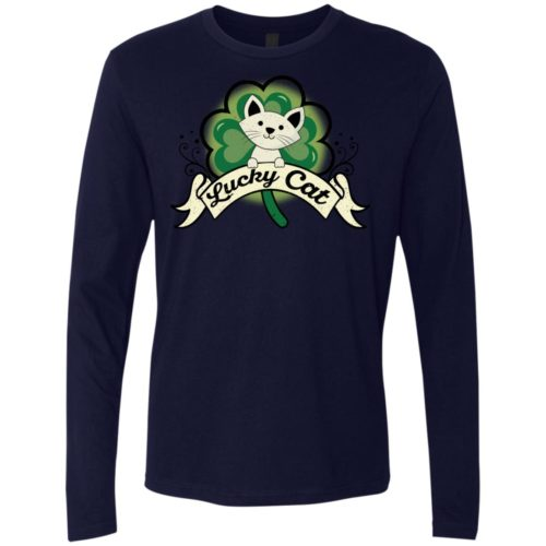 Lucky Cat Premium Long Sleeve Tee