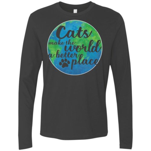 The World A Better Place Premium Long Sleeve Tee