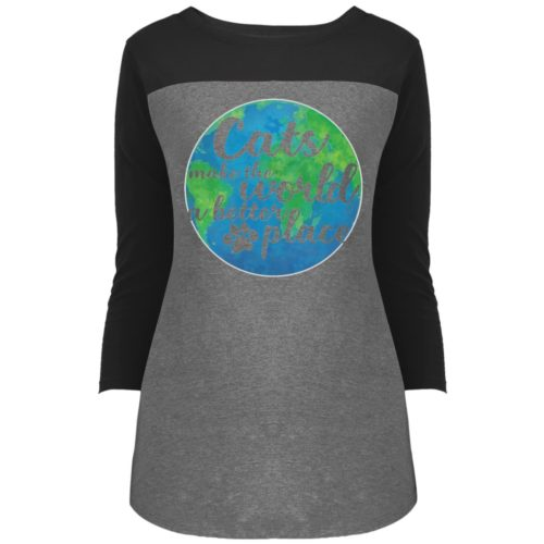 The World A Better Place Colorblock 3/4 Sleeve