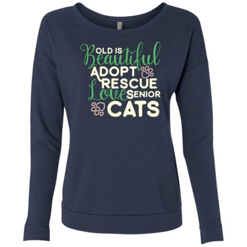 Old Is Beautiful Scoop Neck Sweatshirt