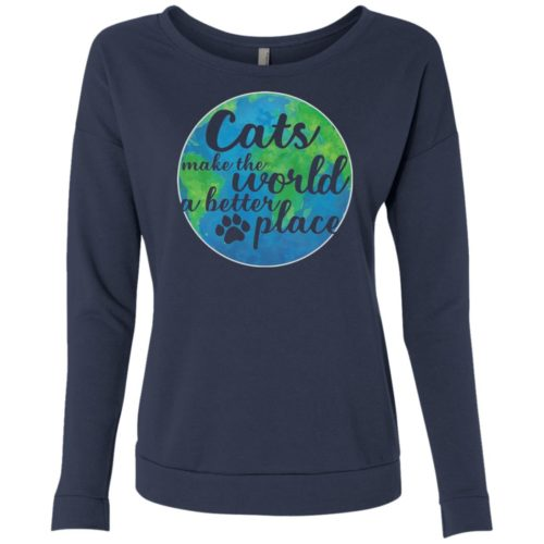 The World A Better Place Scoop Neck Sweatshirt