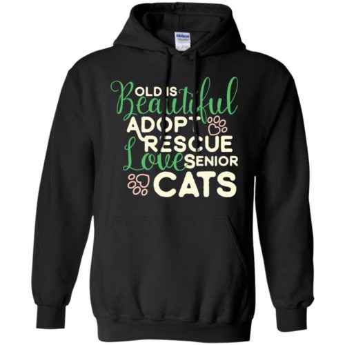 Old Is Beautiful Pullover Hoodie