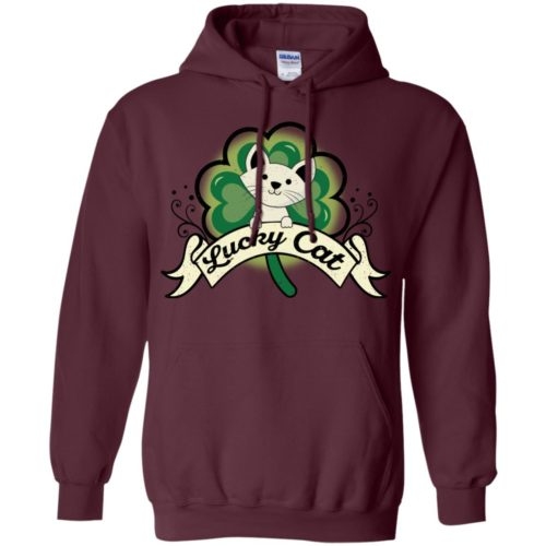 Lucky Cat Pullover Hoodie