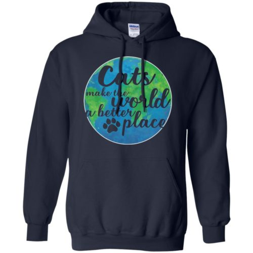The World A Better Place Pullover Hoodie