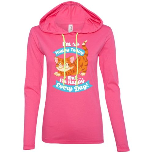 I'm So Happy Fitted T-Shirt Hoodie
