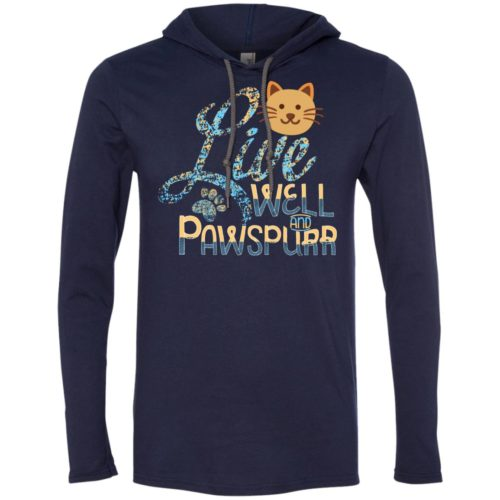 Live Well T-Shirt Hoodie