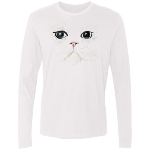 White Cat Premium Long Sleeve Tee
