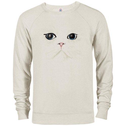 White Cat Premium Crew Neck Sweatshirt