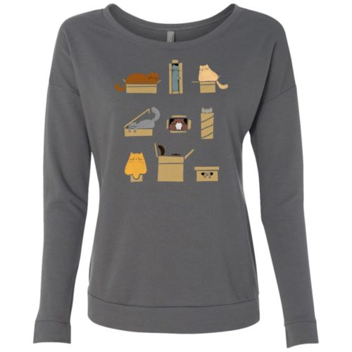 If I Fits I Sits Scoop Neck Sweatshirt