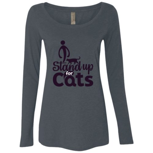 I Stand Fitted Scoop Neck Long Sleeve