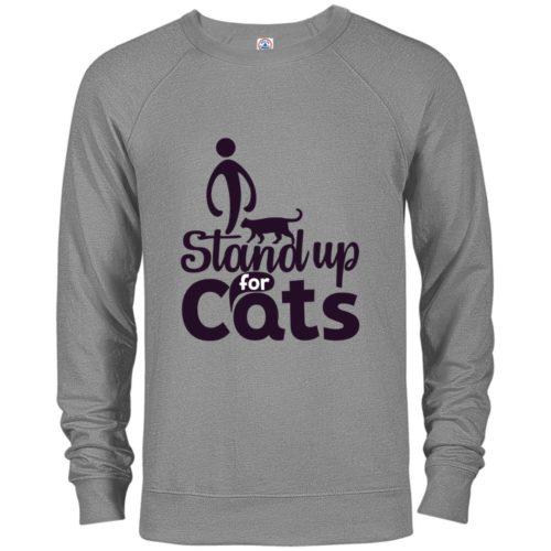 I Stand Premium Crew Neck Sweatshirt