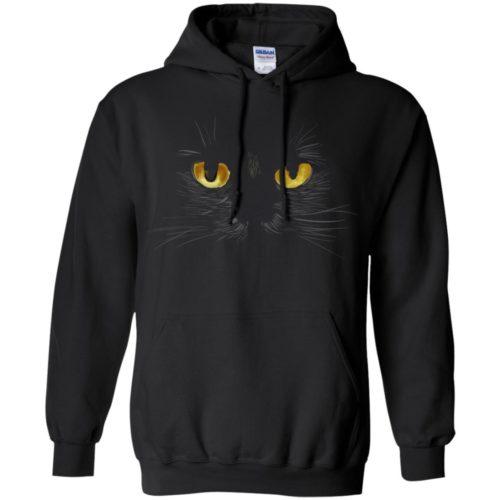 Black Cat Pullover Hoodie