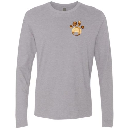 Coffee Paw Premium Long Sleeve Tee