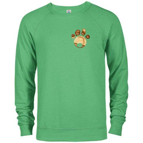Coffee Paw Premium Crew Neck Sweatshirt