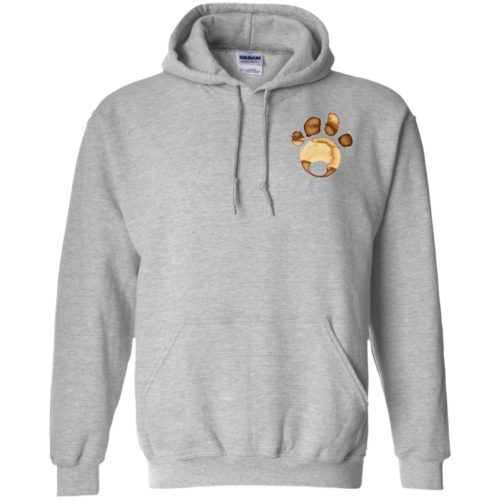 Coffee Paw Pullover Hoodie