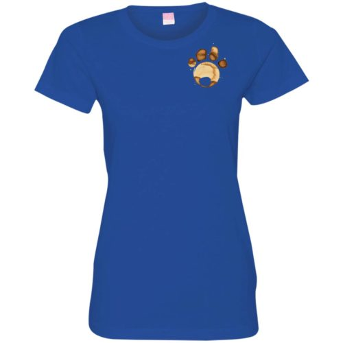 Coffee Paw Fitted Tee