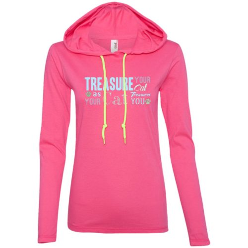 Treasure Your Cat Fitted T-Shirt Hoodie