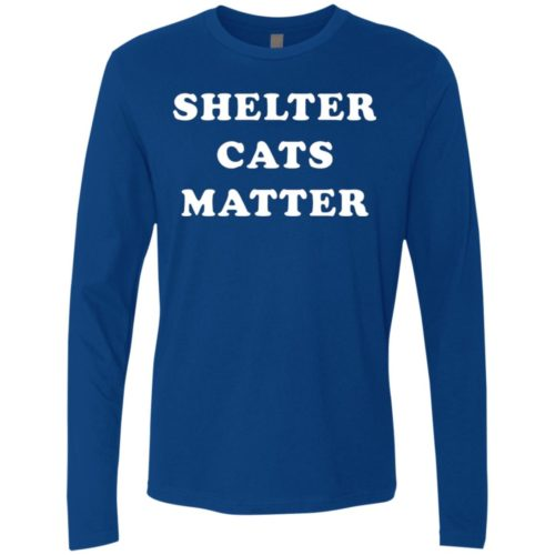 Shelter Cats Matter Premium Long Sleeve Tee