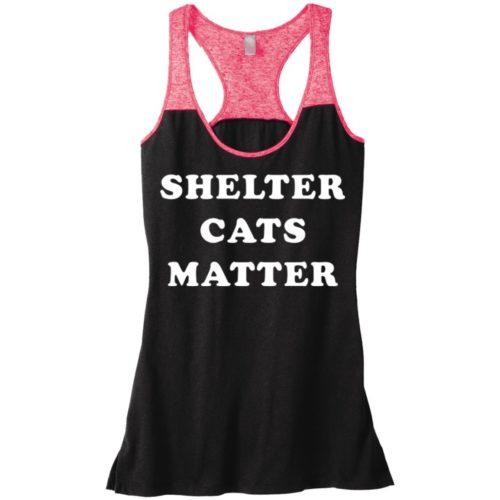 Shelter Cats Matter Varsity Tank