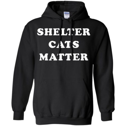 Shelter Cats Matter Pullover Hoodie