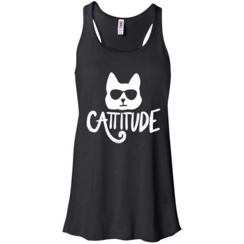 Cattitude Flowy Tank
