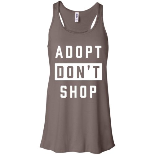 Adopt Don't Shop Flowy Tank