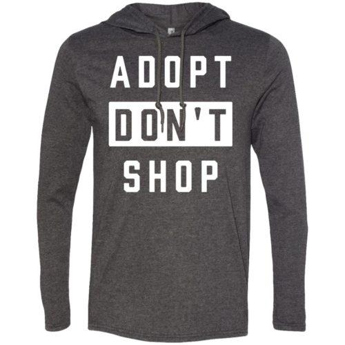 Adopt Don't Shop T-Shirt Hoodie