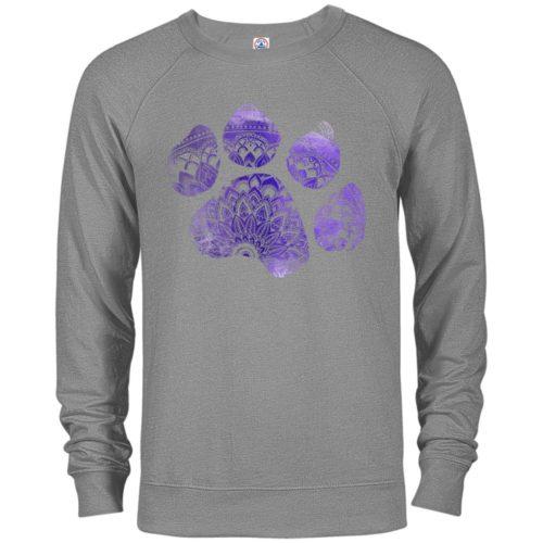 Mandala Paw Premium Crew Neck Sweatshirt