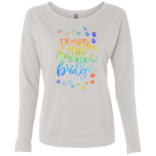 Rainbow Bridge Tee Scoop Neck Sweatshirt