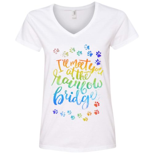 Rainbow Bridge Tee V-Neck Tee