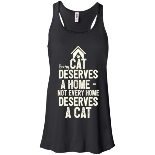 Every Cat Deserves Flowy Tank
