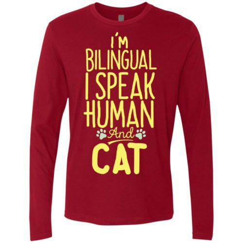 I'm Bilingual Premium Long Sleeve Tee