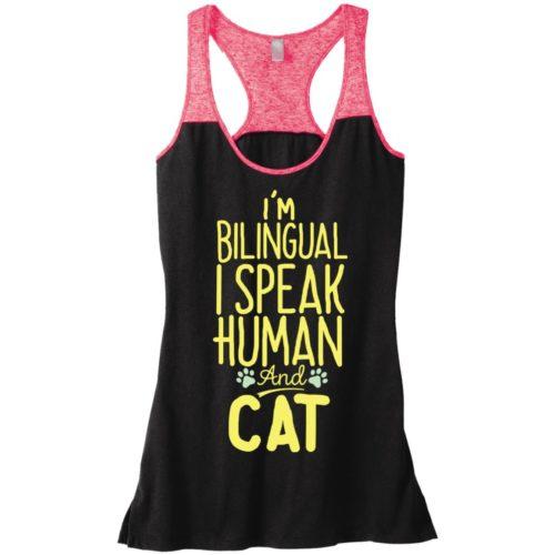 I'm Bilingual Varsity Tank