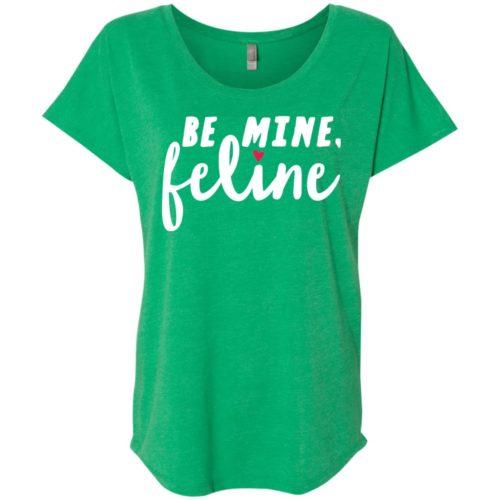 Be Mine Feline Slouchy Tee