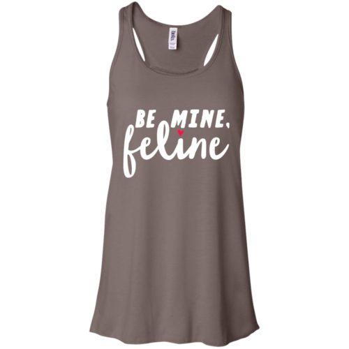 Be Mine Feline Flowy Tank